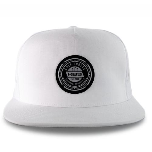 Carlsbad Snapback Hat - White