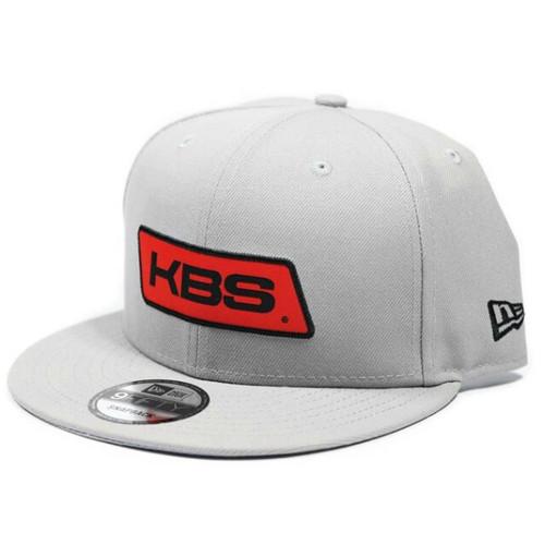 New Era Flat Brim Hat - Graphite