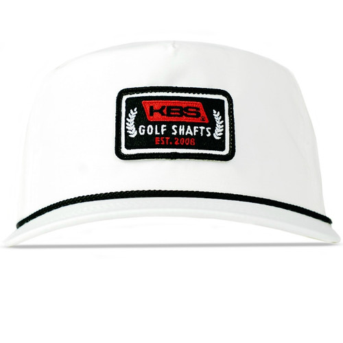 Retro Rope Hat - White