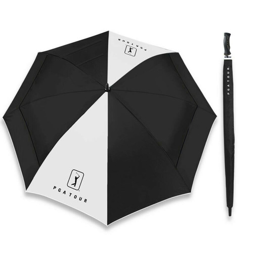 PGA Tour Windsheer Lite Umbrella Black/White
