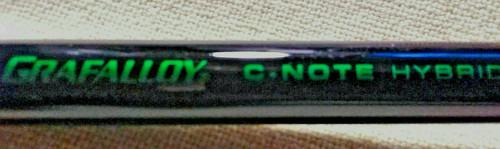 Grafalloy C-Note Hybrid Shafts - .355 & .370 Tip
