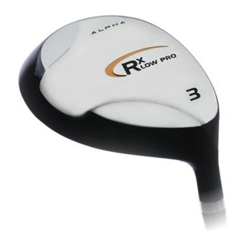 Alpha RX Low Pro Fairway Wood Heads