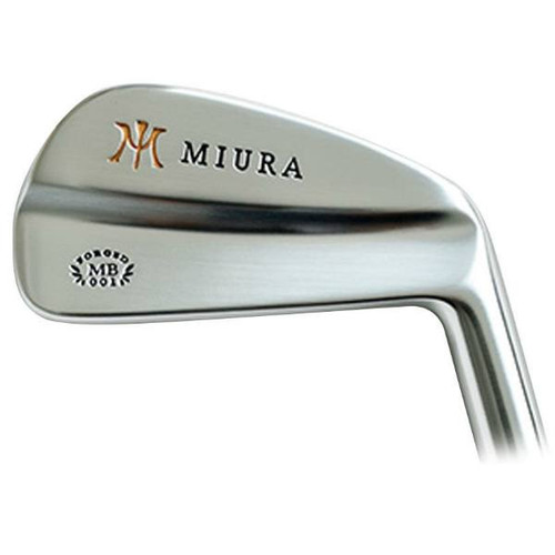 Miura Giken MB-001 Stock Iron Golf Clubs