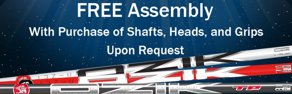 LA Golf Shafts Free Assembly