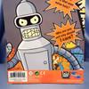 Talking Bender Bending Rodriguez from Futurama by Toynami.