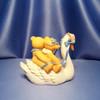 Swan Ride with Matt and Vicki Figurine by Cherished Teddies W/Box.