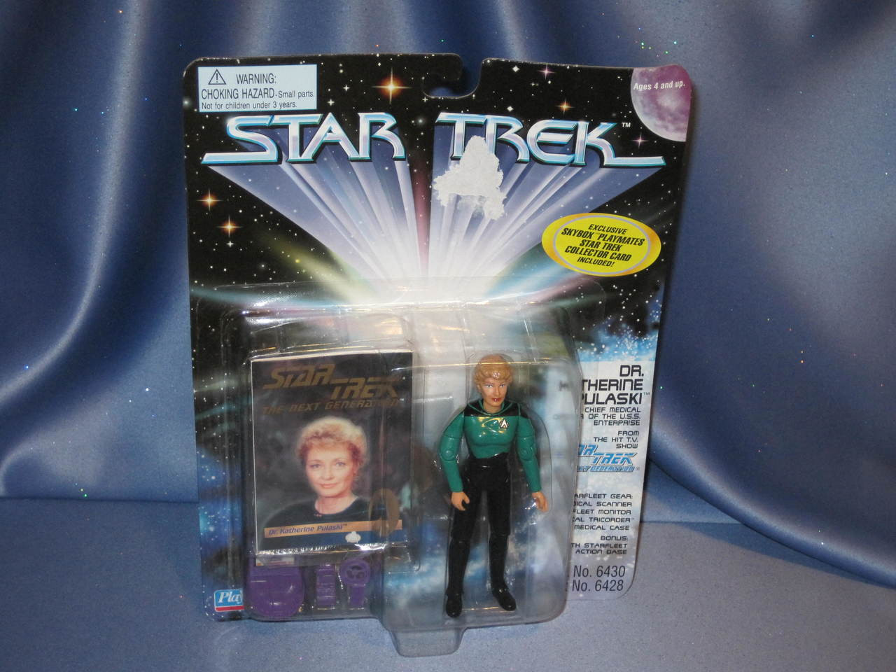 Star Trek The Next Generation Pulaski Playmates figure NEW