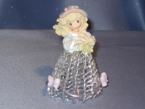 "Precious Moments ""Spring Belle"" Bell by Enesco W/Box."