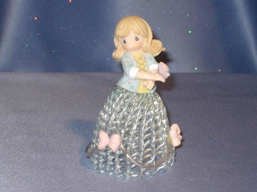 "Precious Moments ""Summer Belle"" Bell by Enesco W/Box."