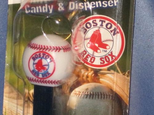 "Boston Red Sox ""Baseball"" Candy Dispenser by PEZ."