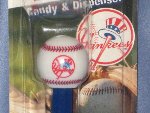 "New York Yankees ""Baseball"" Candy Dispenser by PEZ."