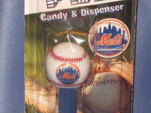 "New York Mets ""Baseball"" Candy Dispenser by PEZ."