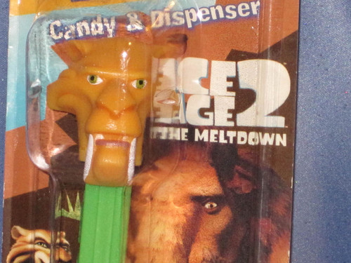 Diego the Saber Tooth Tiger Candy Dispenser by PEZ.