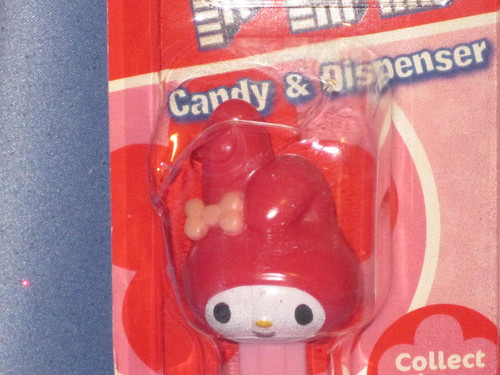 Sanrio Hello Kitty My Melody Candy Dispenser by PEZ.