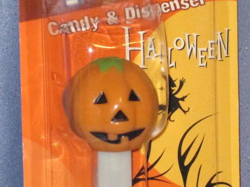 """Halloween """"Polly Pumpkin"""" Candy Dispenser by PEZ."""