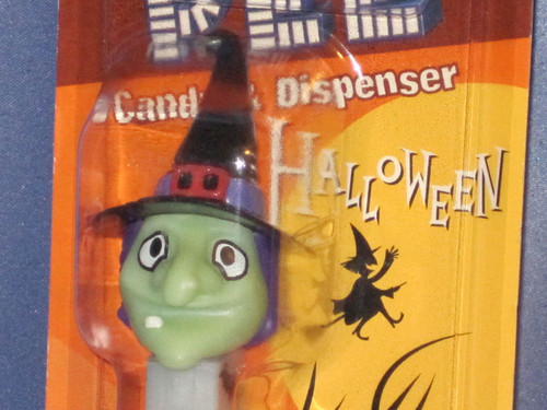 "Halloween ""Witch"" Candy Dispenser by PEZ."