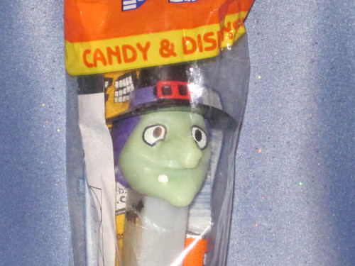"""Halloween """"Witch"""" Candy Dispenser by PEZ (B)."""