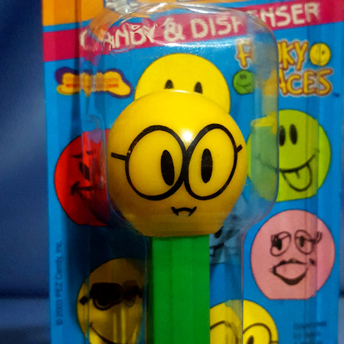 """Funky Faces """"Nerd"""" Candy Dispenser by PEZ."""
