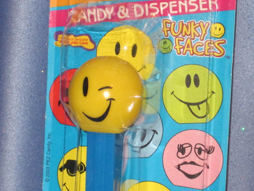 "Funky Faces ""Wink"" Candy Dispenser by PEZ."