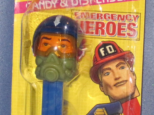 """Emergency Heroes """"Air Force Pilot"""" Candy Dispenser by PEZ."""