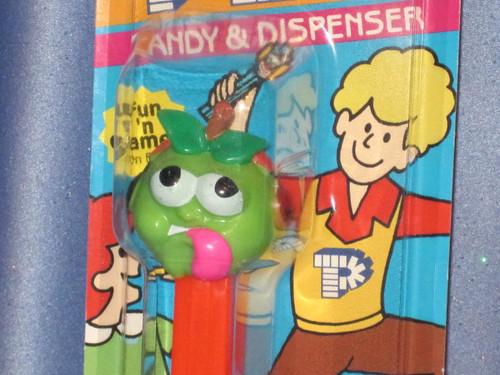 "Sourz ""Green Apple"" Candy Dispenser by PEZ."