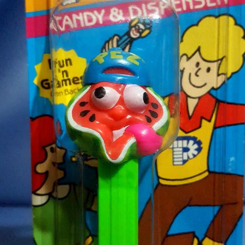 """Sourz """"Watermelon"""" Candy Dispenser by PEZ."""