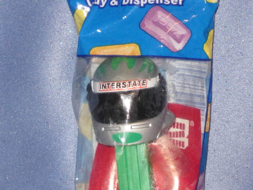 "NASCAR ""Bobby Labonte"" Candy Dispenser by PEZ (B)."