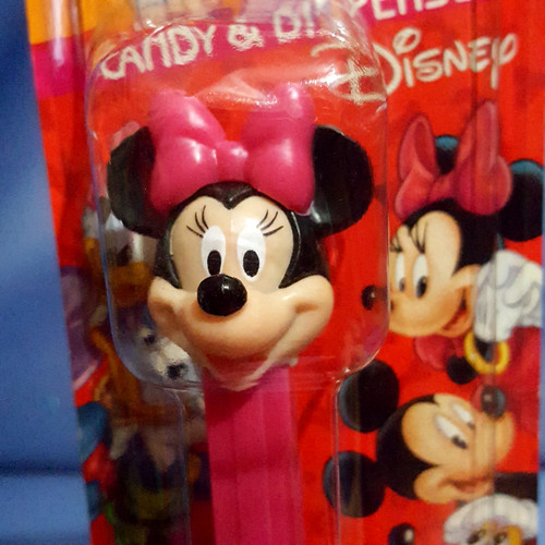 """Disney """"Minnie Mouse"""" Candy Dispenser by PEZ."""