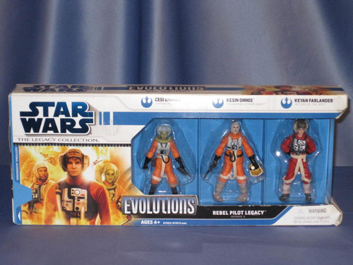 Star Wars - Evolutions - Rebel Pilot Legacy Series II - The Legacy Collection.