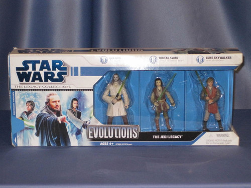 Star Wars - Evolutions - The Jedi Legacy - The Legacy Collection.
