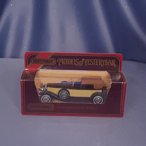 1930 Duesenberg Model J Town Car  Models of Yesteryear Y-4 by Matchbox.