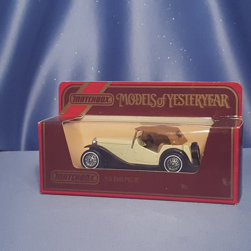 1945 MG TC Car - Models of Yesteryear Y-8 by Matchbox.