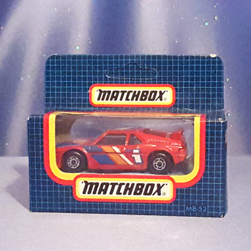 1987 BMW M1 Car - MB52 by Matchbox.