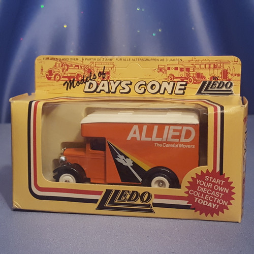 1930's Allied Moving Truck - Models Days Gone by Lledo.