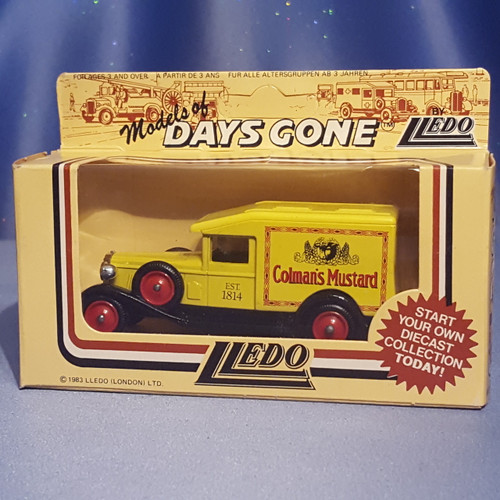 "1930's Delivery Truck ""Colman's Mustard"" Models of Days Gone by Lledo."