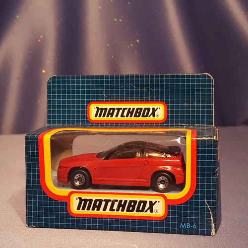 1991 Alfa Romeo SZ Car - MB6 by Matchbox.