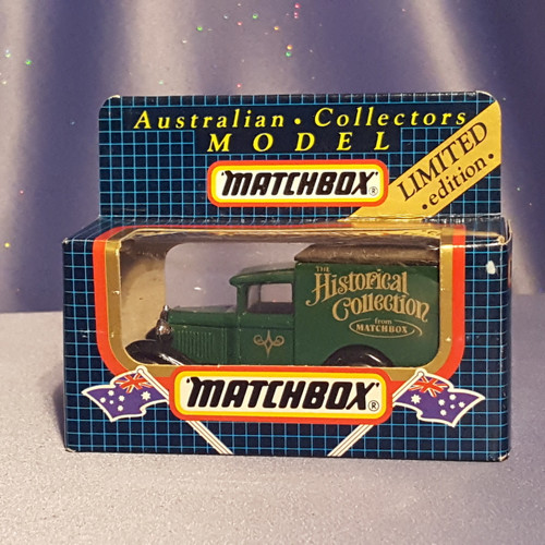 Ford Model A Van - MB38 by Matchbox Australia.
