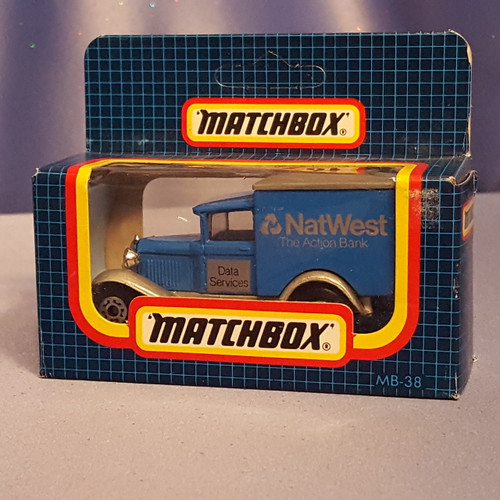 Ford Model A Car Laster - Bestel Auto - MB38 by Matchbox.