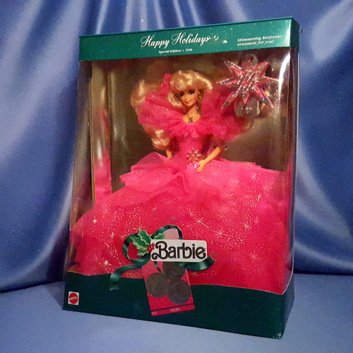 Barbie - Happy Holidays - Special Edition 1990 by Mattel.