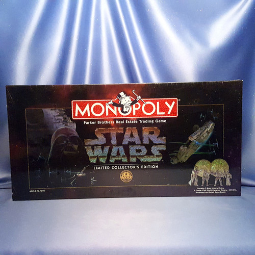 Star Wars Monopoly Limited Collector's Edition Board Game by Parker Brothers.