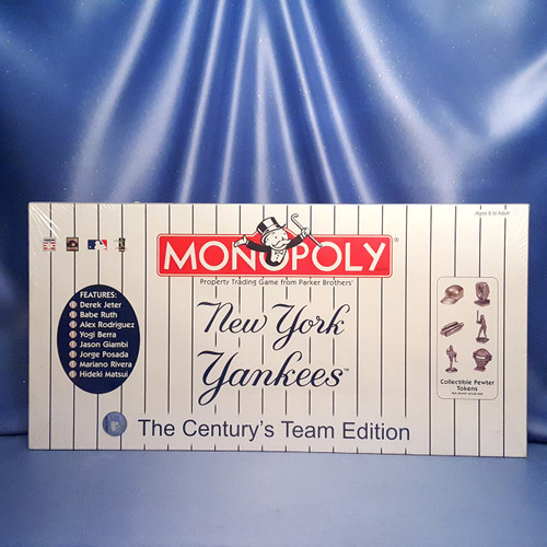 """New York Yankees Themed Monopoly """"The Century's Team Edition"""" Board Game by USAopoly."""
