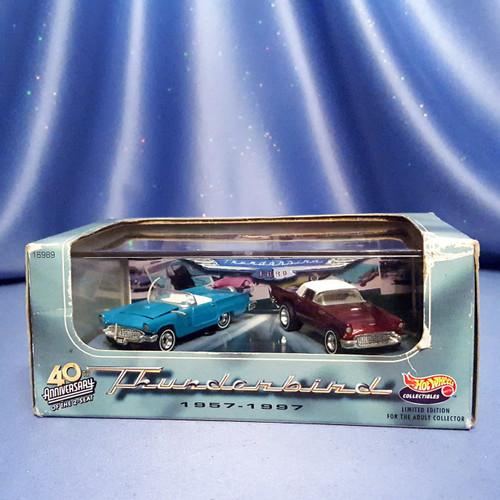 Ford Thunderbird Cars 40th Anniversary 1957 - 1997 by Hot Wheels.