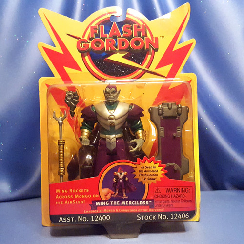 Flash Gordon - Ming the Merciless Action Figure by Playmates.