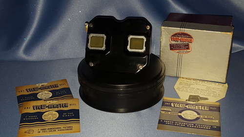 View Master with Three Reels by Sawyer's.