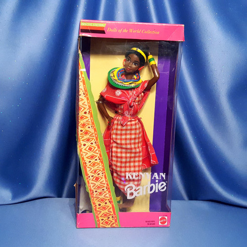 Kenyan Barbie Dolls of the World Collection By Mattel.