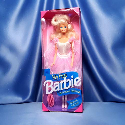 My First Barbie Doll - Ballerina by Mattel.