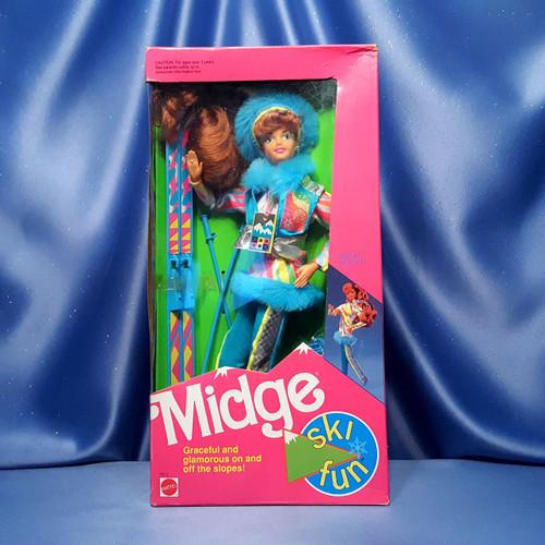 Ski Fun Midge Doll by Mattel.