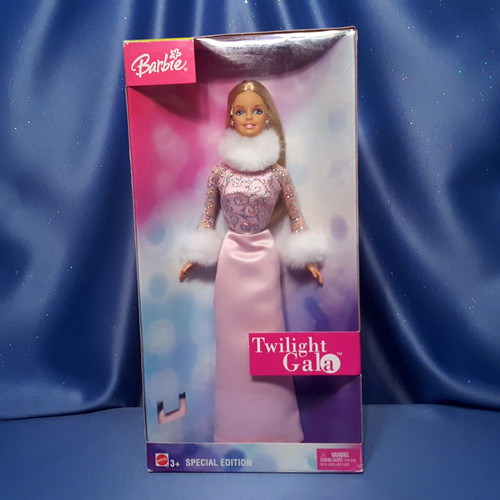 Twilight Gala Barbie Doll by Mattel.