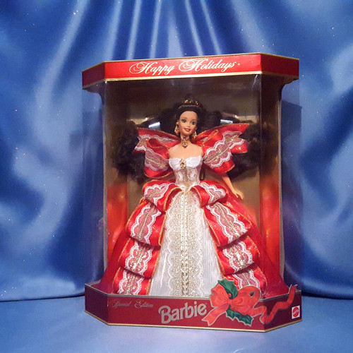 Happy Holidays 1997 Barbie Doll by Mattel.