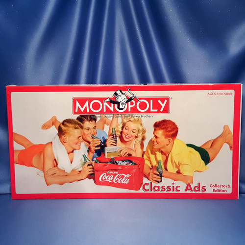 Coca-Cola Classic Ads Collector's Edition Monopoly by USAopoly